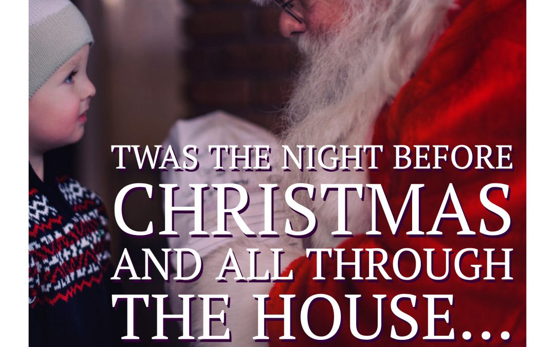 Twas The Night Before Christmas –  a reading of the poem by Mark Bradford