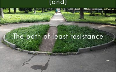 Path of least resistance and communication