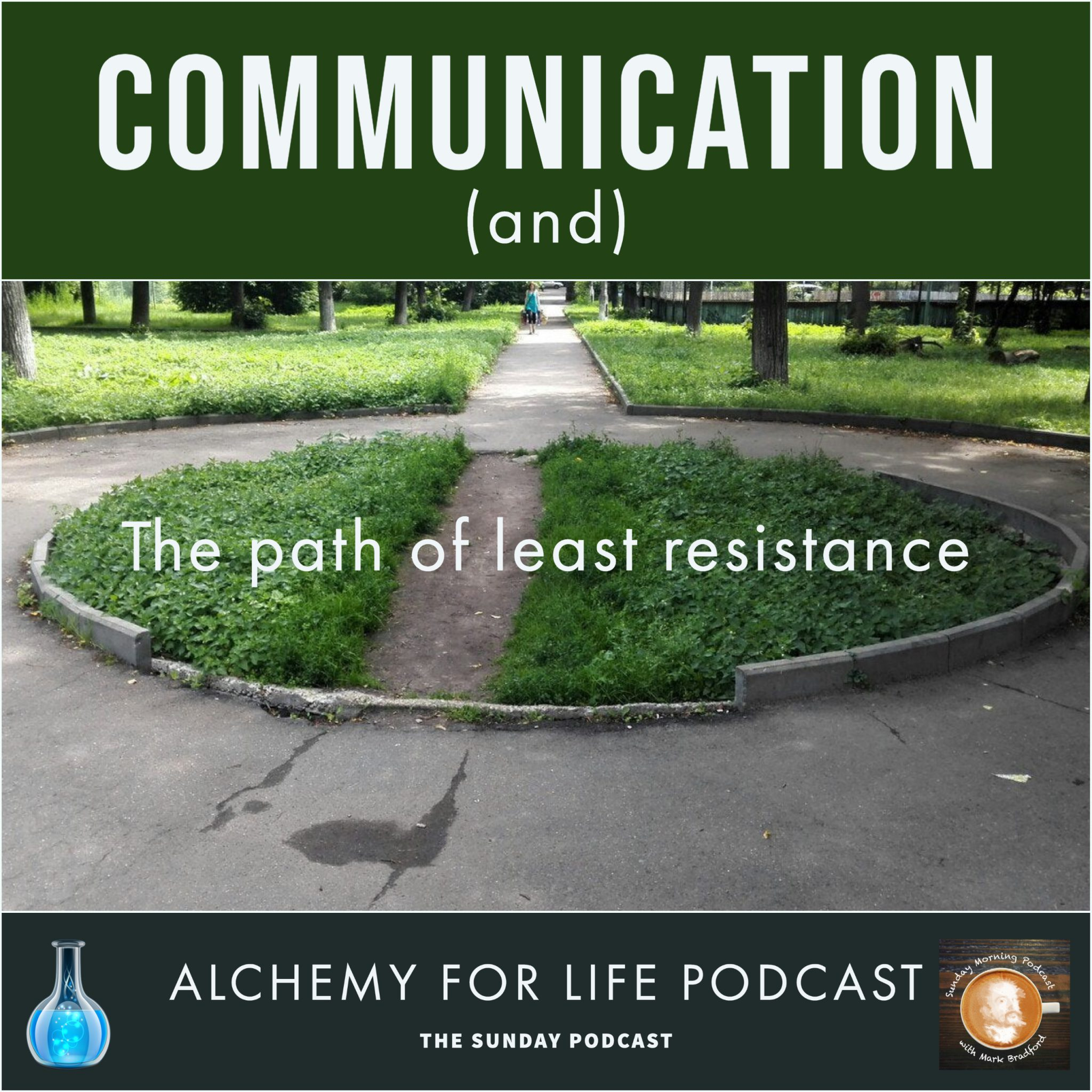 The path of lest resistance and communication