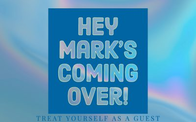 Hey Mark is coming over today!